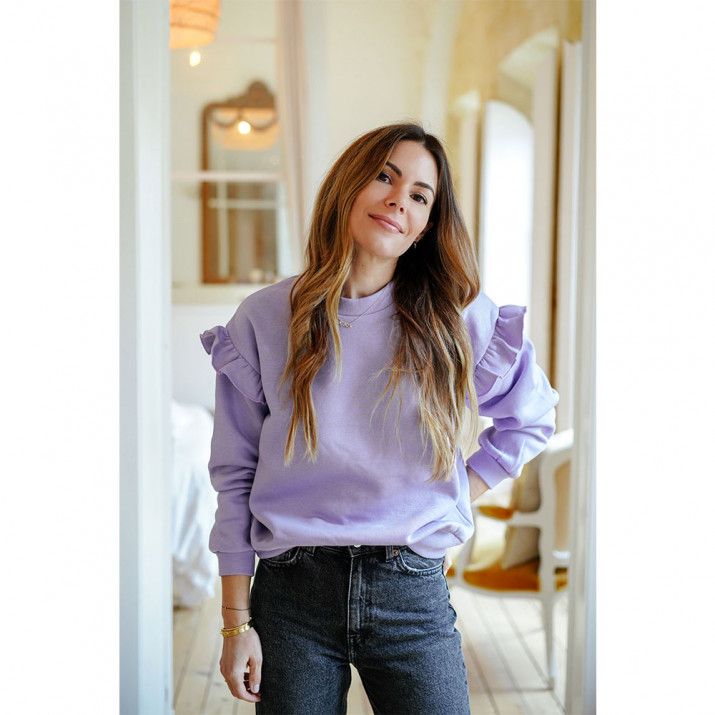 Kate Sweat-Shirt - lilas