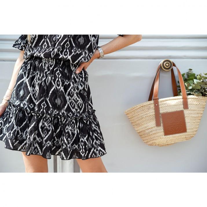 Bouquet Skirt - Ikat