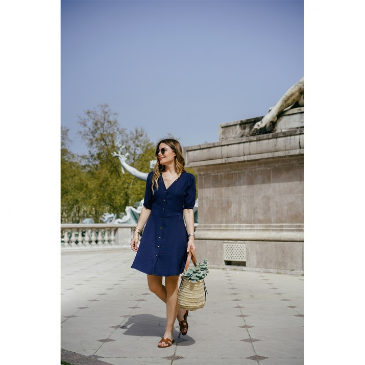 Rosie Dress - marine