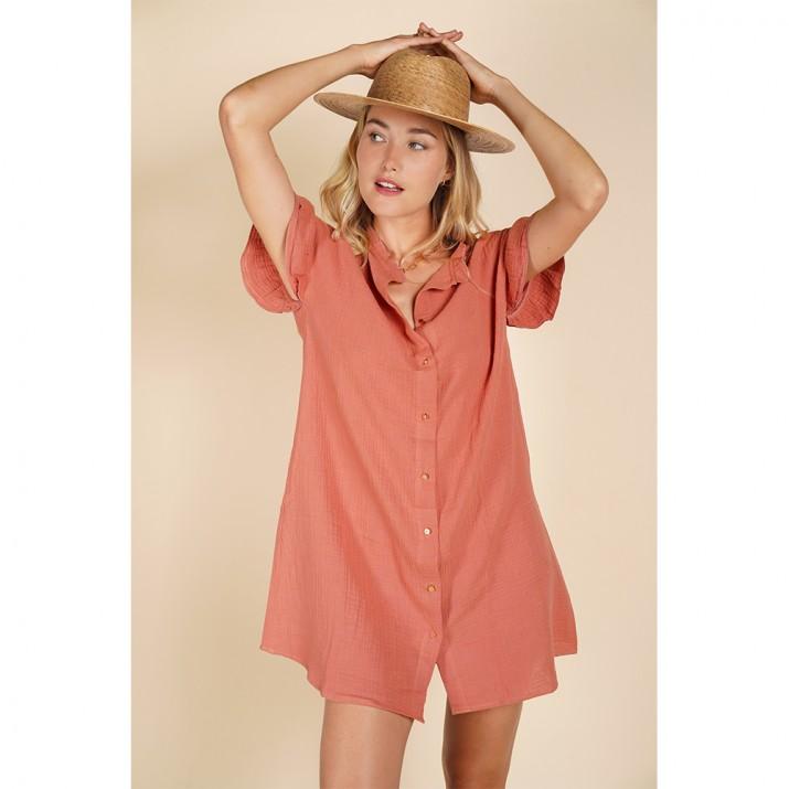 Formentera Dress - Terracotta