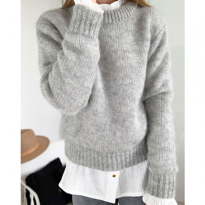 Pull Woody - Gris chiné
