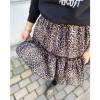 Bouquet Skirt - leopard print
