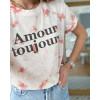 Tee Amour Toujours - Tie & Dye