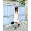 Abi Dress - Off White