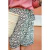 Java Skirt - Black Print