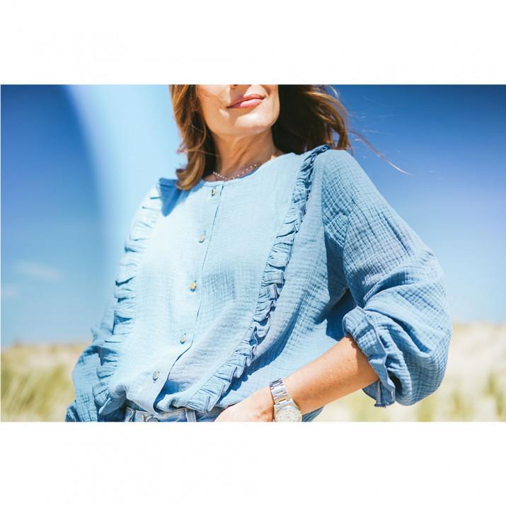 Palisades Shirt - Blue
