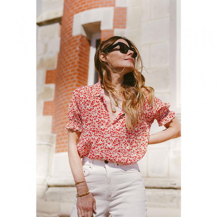 Denisse Shirt - Red