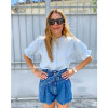 Feliz Shirt - Blue