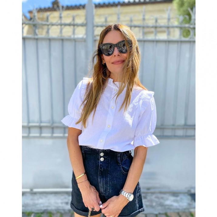Feliz Shirt - White