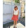 Belharra Skirt - Terracotta
