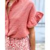 Feliz Shirt - Terracotta