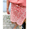 Java Skirt - Red print