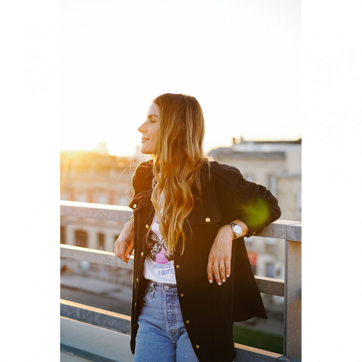 Lexi Overshirt - Black