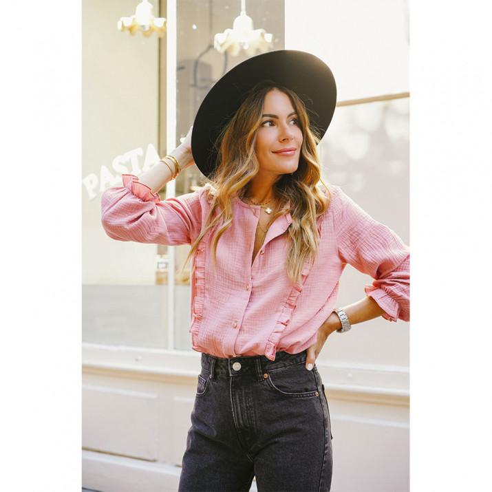 Palisades Shirt - Pink