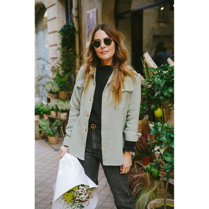 Sur-chemise Lexi - Amande