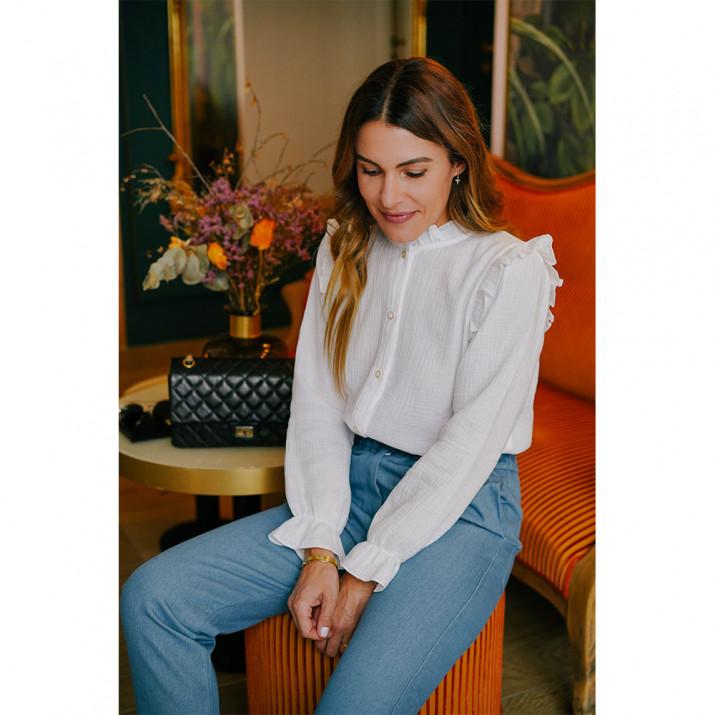 Olympe Shirt - White