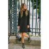 Leaf Dress - Black